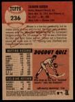 2002 Topps Heritage #236  Shawn Green  Back Thumbnail