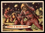 1957 Topps Space Cards #39   Trapped in Meteor Shower  Front Thumbnail