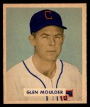 1949 Bowman #159  Glen Moulder  Front Thumbnail