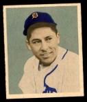 1949 Bowman #107  Eddie Lake  Front Thumbnail