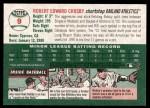 2003 Topps Heritage #9  Bobby Crosby  Back Thumbnail