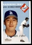 2003 Topps Heritage #50 BLU Kazuhisa Ishii   Front Thumbnail