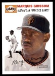 2003 Topps Heritage #153  Marquis Grissom  Front Thumbnail