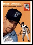 2003 Topps Heritage #90  Mike Lowell  Front Thumbnail