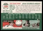 2003 Topps Heritage #185  Eric Gagne  Back Thumbnail