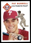 2003 Topps Heritage #11 NEW Pat Burrell   Front Thumbnail