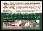 2003 Topps Heritage #68  Jeff Mathis  Back Thumbnail