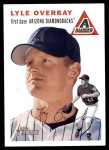 2003 Topps Heritage #135  Lyle Overbay  Front Thumbnail