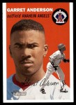 2003 Topps Heritage #70  Garret Anderson  Front Thumbnail