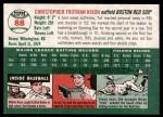 2003 Topps Heritage #88  Trot Nixon  Back Thumbnail