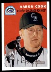2003 Topps Heritage #270  Aaron Cook  Front Thumbnail