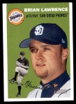 2003 Topps Heritage #286  Brian Lawrence  Front Thumbnail