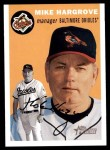 2003 Topps Heritage #203  Mike Hargrove  Front Thumbnail