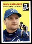 2003 Topps Heritage #218  Chuck Knoblauch  Front Thumbnail