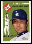 2003 Topps Heritage #338  Hideo Nomo  Front Thumbnail