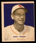 1949 Bowman #4 NAM Jerry Priddy  Front Thumbnail