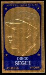 1965 Topps Embossed #24   Diego Segui   Front Thumbnail