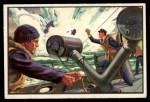 1954 Bowman U.S. Navy Victories #16   Y Gun Helps Defeat Enemy Front Thumbnail