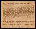 1941 Gum Inc. War Gum #53   Tank-Riding Igorots Wipe Out Japanese Back Thumbnail