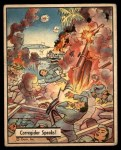 1941 Gum Inc. War Gum #49   Corregidor Speaks Front Thumbnail
