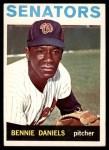 1964 Topps #587  Bennie Daniels  Front Thumbnail