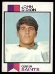 1973 Topps #192  John Didion  Front Thumbnail