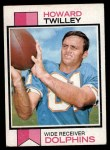 1973 Topps #21  Howard Twilley  Front Thumbnail