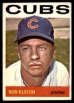 1964 Topps #111  Don Elston  Front Thumbnail