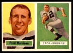 1957 Topps #154  Fred Morrison  Front Thumbnail