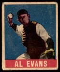 1948 Leaf #22  Al Evans  Front Thumbnail