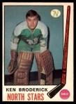 1969 O-Pee-Chee #197  Ken Broderick  Front Thumbnail