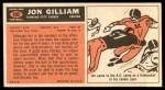 1965 Topps #100  Jon Gilliam  Back Thumbnail