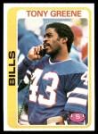 1978 Topps #251  Tony Greene  Front Thumbnail
