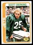 1978 Topps #206  Scott Dierking  Front Thumbnail
