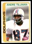 1978 Topps #239  Andre Tillman  Front Thumbnail