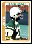 1978 Topps #81  Clark Gaines  Front Thumbnail