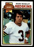 1979 Topps #133  Mark Moseley  Front Thumbnail
