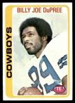1978 Topps #470  Billy Joe DuPree  Front Thumbnail