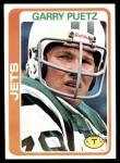 1978 Topps #422  Garry Puetz  Front Thumbnail