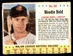 1963 Jello #69  Woodie Held  Front Thumbnail