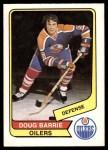 1976 O-Pee-Chee WHA #119  Doug Barrie  Front Thumbnail