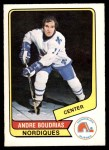 1976 O-Pee-Chee WHA #87  Andre Boudrias  Front Thumbnail