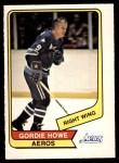 1976 O-Pee-Chee WHA #50  Gordie Howe  Front Thumbnail