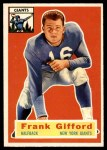1956 Topps #53  Frank Gifford  Front Thumbnail