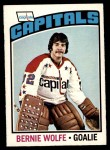 1976 O-Pee-Chee NHL #227  Bernie Wolfe  Front Thumbnail
