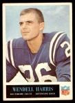 1965 Philadelphia #4  Wendell Harris  Front Thumbnail