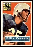 1956 Topps #120  Billy Vessels  Front Thumbnail