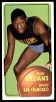 1970 Topps #8  Ron Williams   Front Thumbnail