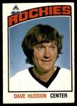 1976 O-Pee-Chee NHL #299  Dave Hudson  Front Thumbnail
