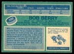 1976 O-Pee-Chee NHL #300  Bob Berry  Back Thumbnail